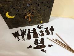 ДЮЙМОВОЧКА набор фигурок для театра теней