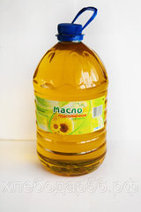 Асекеевское масло нерафинированное подсолнечное 5л