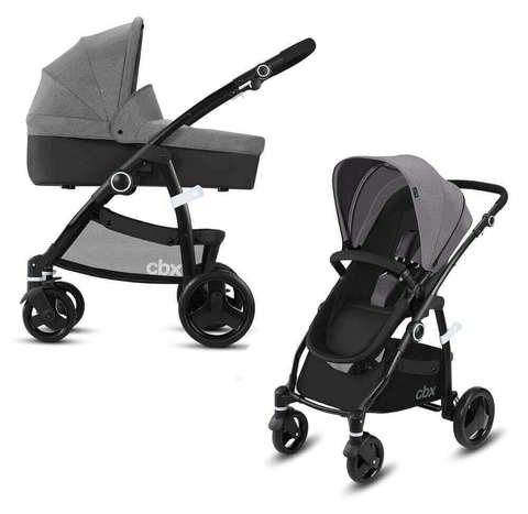 Детская коляска 2 в 1 CBX by Cybex Leotie Pure Comfy Grey