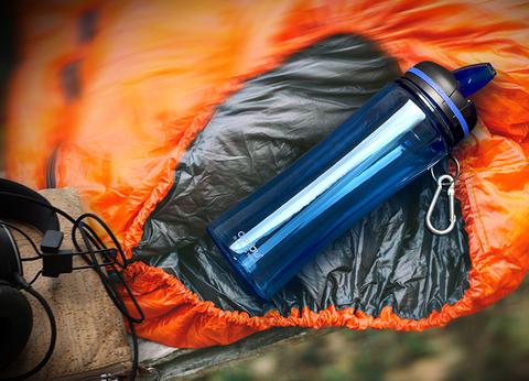 Бутылка спортивная Asobu Triumph (0,72 литра), голубая