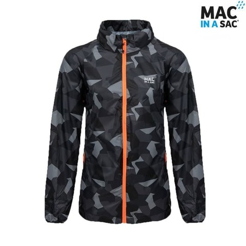 Куртка Limited Edition BLACK CAMO Mac in a Sac