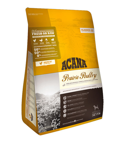 Acana Classics Prairie Poultry сухой корм для собак (цыпленок) 340 г