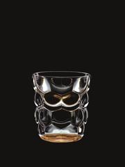 Набор из 2 стаканов для воды с оранжевым донышком Bubbles, 330 мл, фото 2