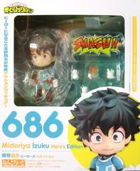 Nendoroid Izuku Midoriya: Hero's Edition (My Hero Academia) || Мидория