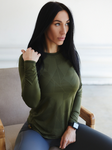 Рашгард Lion gym AIR KHAKI