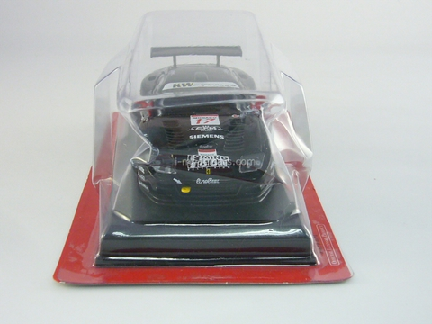 Ferrari 575 GTC 2004 black 1:43 Eaglemoss Ferrari Collection #65