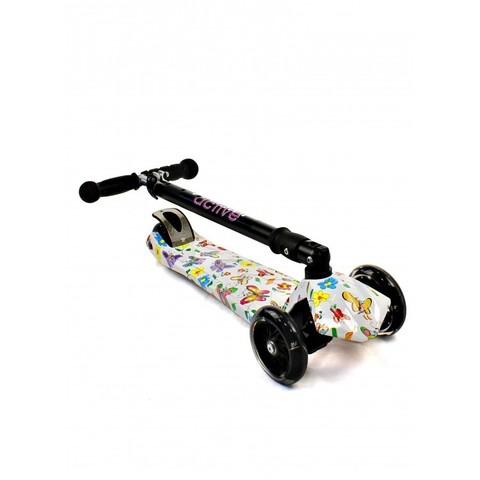 Трехколессный самокат Triumf Active Maxi Plus Print Butterfly