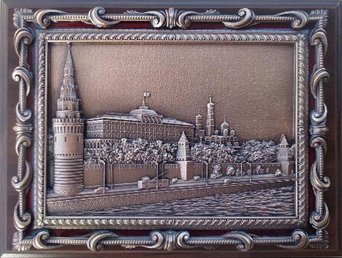 Плакетка с видом Москвы