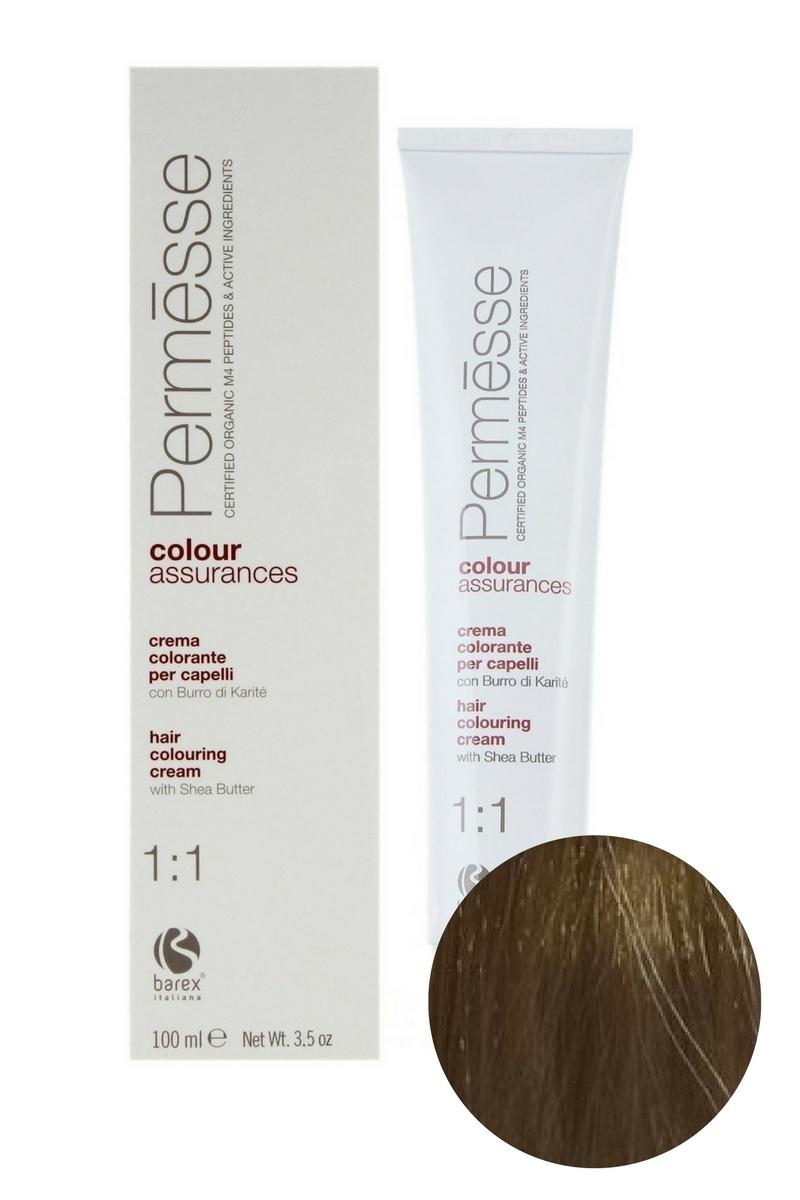 Крем-краска для волос 9.1 Суперсветлый блондин пепельный Permesse, Barex