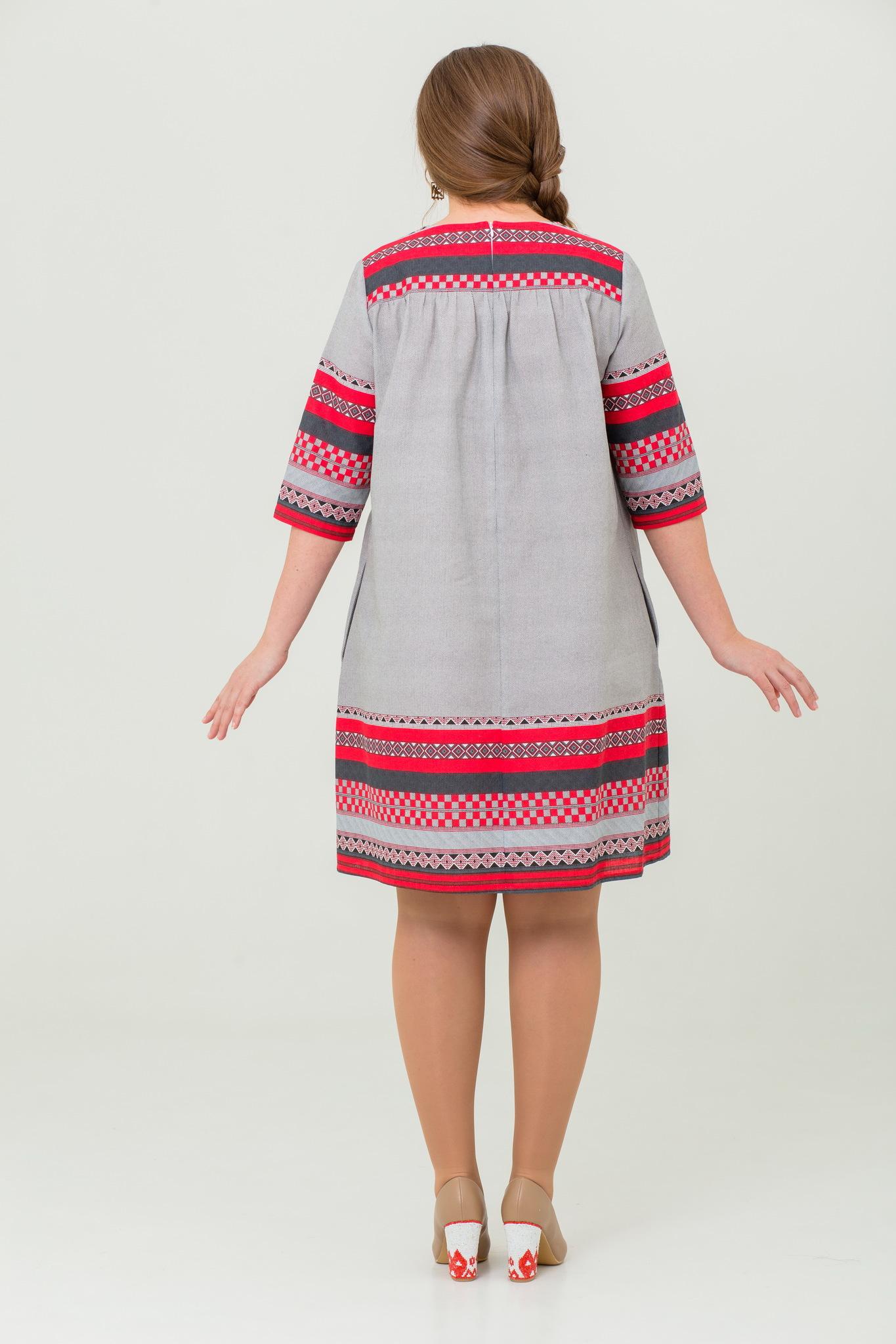 Платье Чудное мгновенье в русском стиле купить