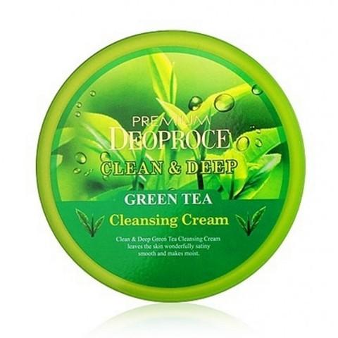 DEOPROCE PREMIUM Крем для лица очищающий с экстрактом зеленого чая PREMIUM DEOPROCE CLEAN & DEEP GREEN TEA CLEANSING CREAM 300g