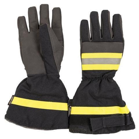 Купить Перчатки пожарника Бундесвер, цвет темно-синий, б/у, Товары Бундесторга, доставка курьером, Mil-Tec