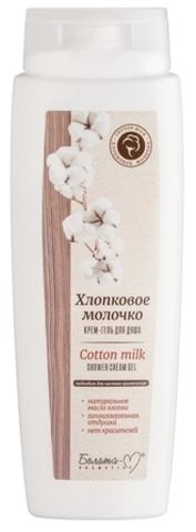 Белита-М Хлопковое молочко Крем-гель для душа 400г