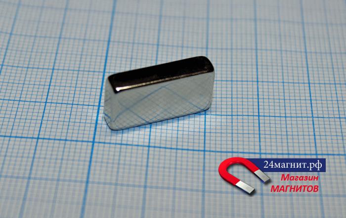 Неодимовый магнит (призма) 20х10х5 мм