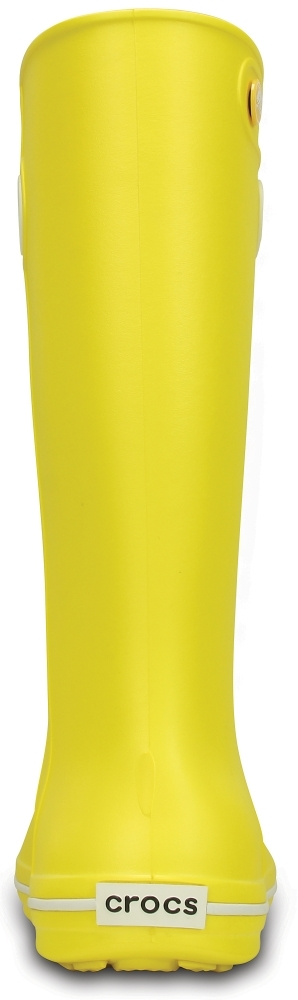 Резиновые сапоги женские Crocband Jaunt Womens Lemon