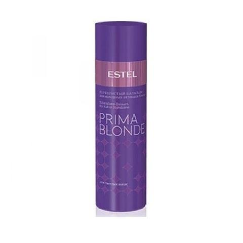 Серебристый  бальзам для холодных оттенков блонд Prima Blonde Estel, 200 мл