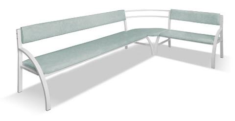 Скамья (диван) угловая (внутренняя) - фото