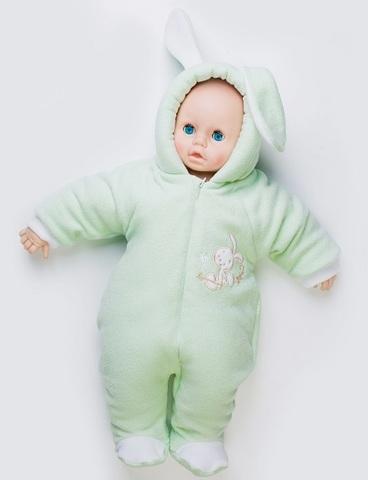 Комбинезон флисовый для новорожденного