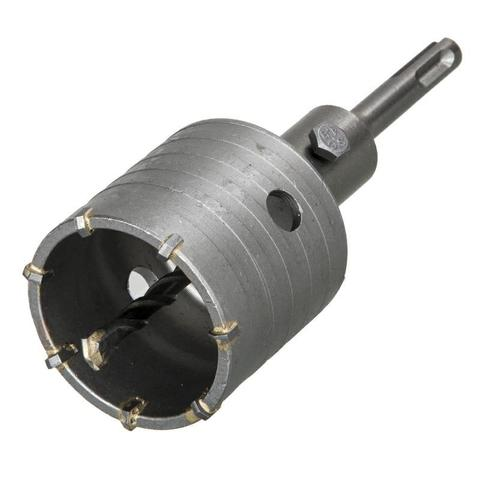 Коронка твердосплавная ПРАКТИКА SDS- Plus ударная 60 мм (1шт.) клипса (917-941)
