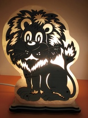 Солевая лампа Лев 2-3 кг