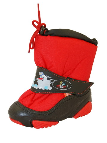 Сапоги Демар Snowmen красные 1