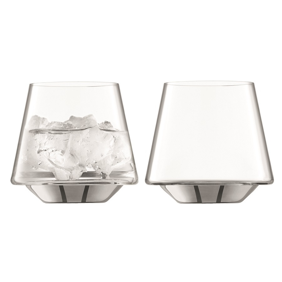 Набор из 2 стаканов Space, 430 мл, платина набор стаканов luminarc новая америка 6шт 270мл низкие стекло