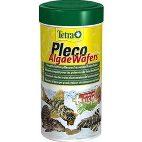TETRAPleco Spirulina Wafers (пластинки) корм для сомиков и