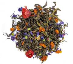 """Травяной эко чай с ягодами облепихи """"Вдохновение"""", фитосбор 100 гр"""