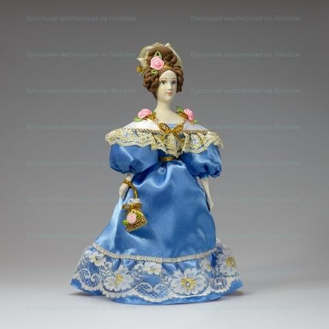 Кукла в костюме 19 века
