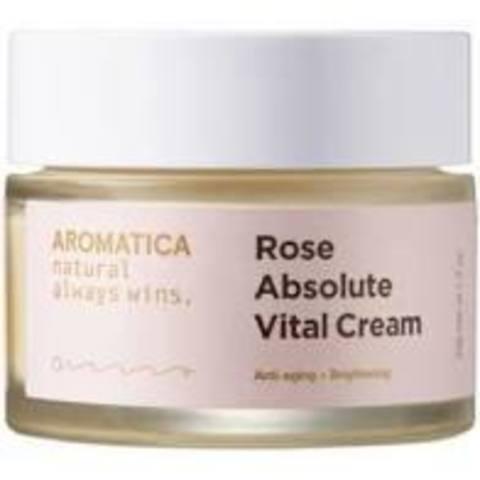 AROMATICA Крем с экстрактом розы Rose Absolute Vital Cream 50G