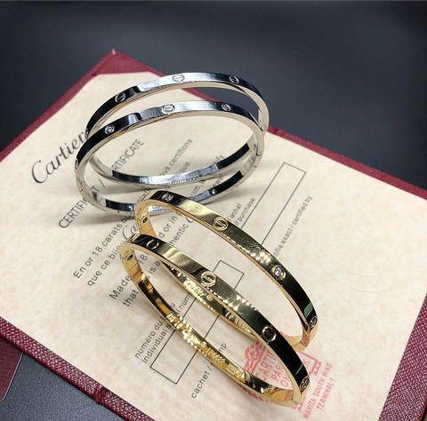 Браслет Cartier тонкий