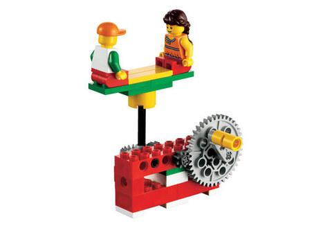 LEGO Education: Набор «Простые механизмы» в пластиковой коробке 9689 — Lego Simple Machines Set