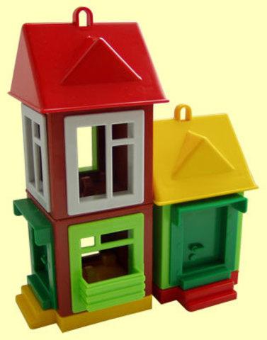 Кукольный дом панельный