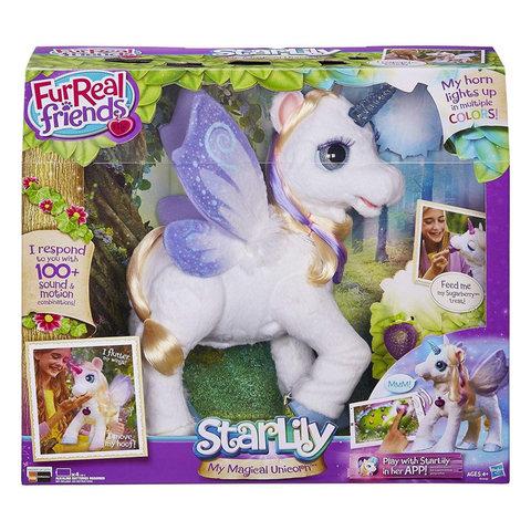 FurReal Friends интерактивная игрушка Волшебный Единорог