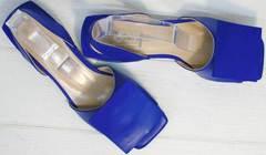 Стильные женские сандалии из натуральной кожи Amy Michelle 2634 Ultra Blue.
