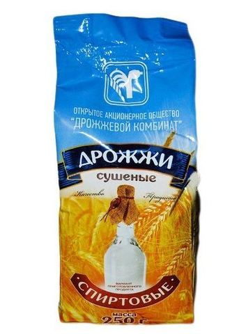 Дрожжи спиртовые Белорусские, 250 гр