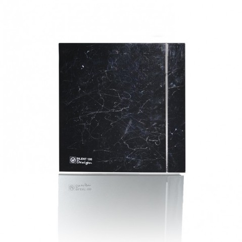Накладной вентилятор Soler & Palau SILENT-100 CZ DESIGN-4С MARBLE BLACK