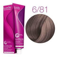 LondaColor 6/81 (Темный блонд жемчужно-пепельный) - Стойкая крем-краска