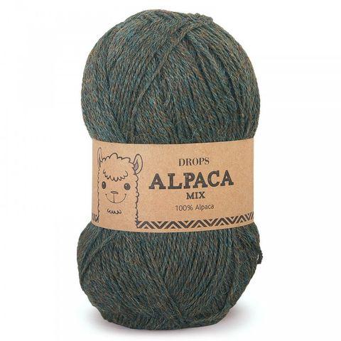 Пряжа Drops Alpaca 7815 зеленый лес