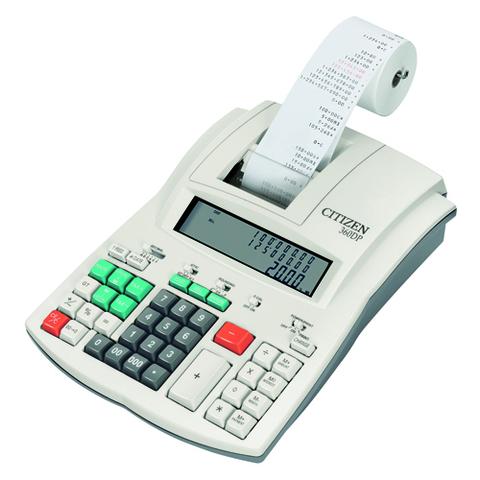 Калькулятор с печатью Citizen 360 DP