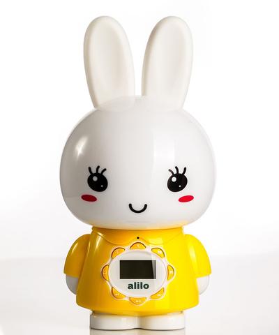 Большой зайка Alilo G7 Желтый