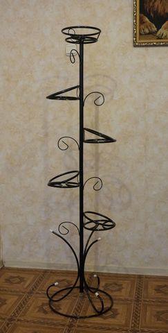 Подставка под цветы Стелла на пять горшков разборная