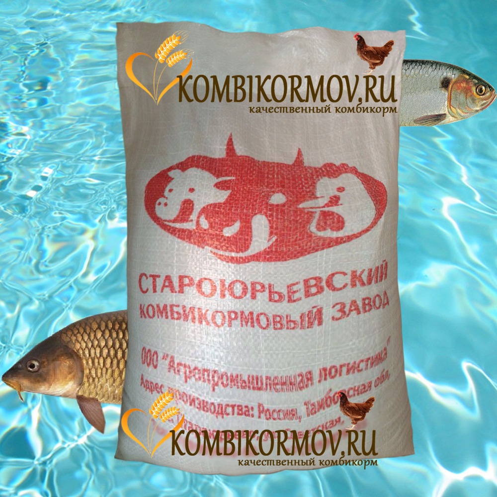 Рыбный комбикорм КРК-110