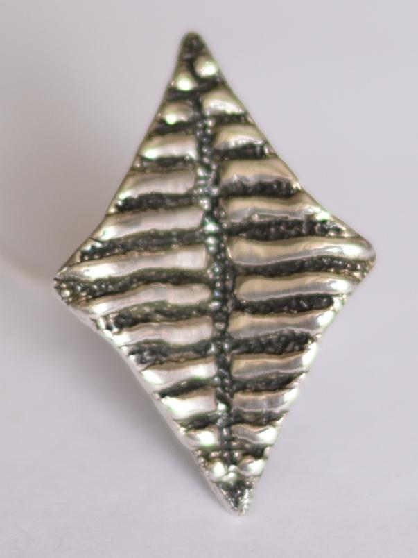 Змей малый (кольцо из серебра)