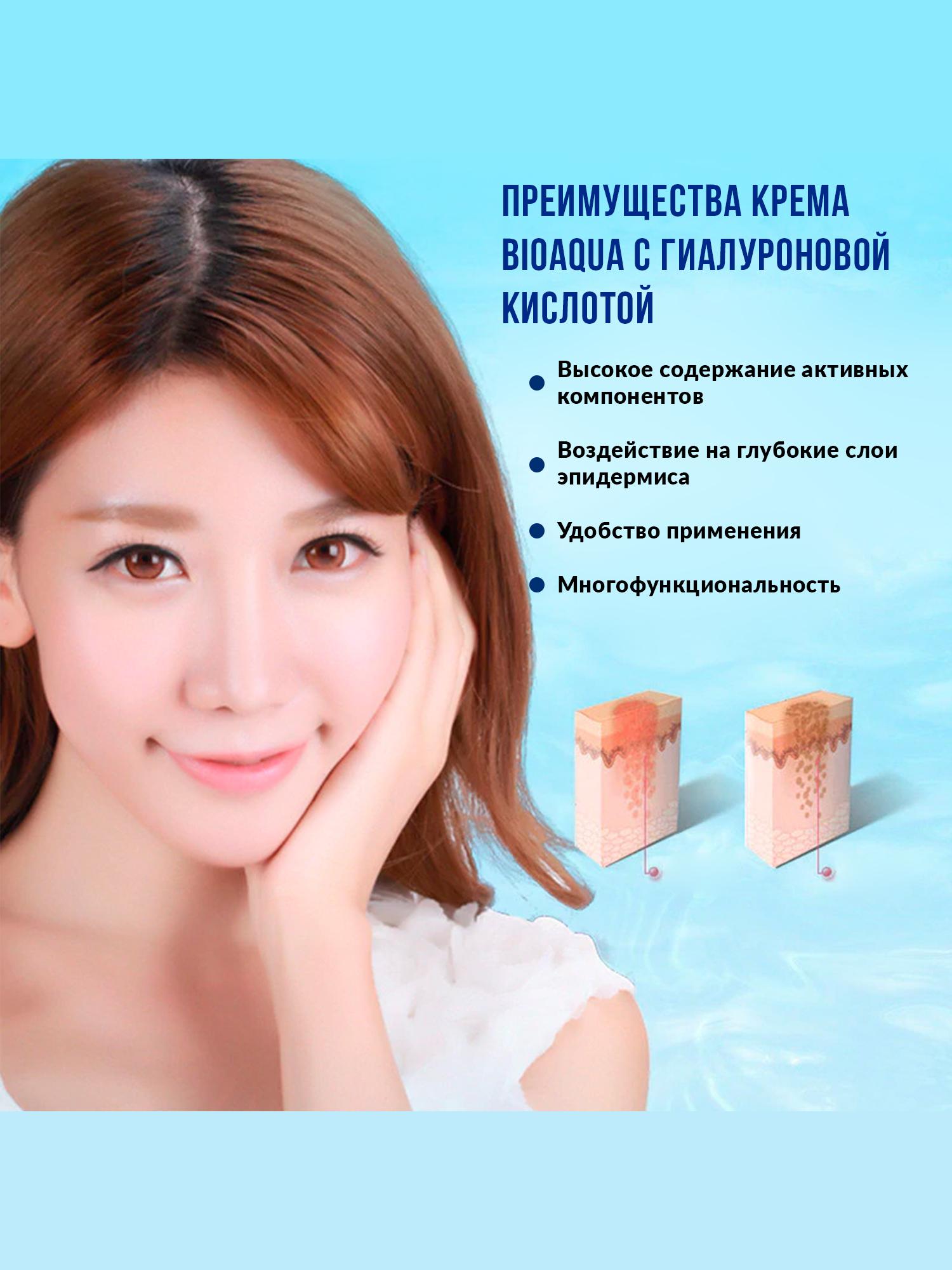 Увлажняющий крем с гиалуроновой кислотой Hyaluronic acid, 50гр.