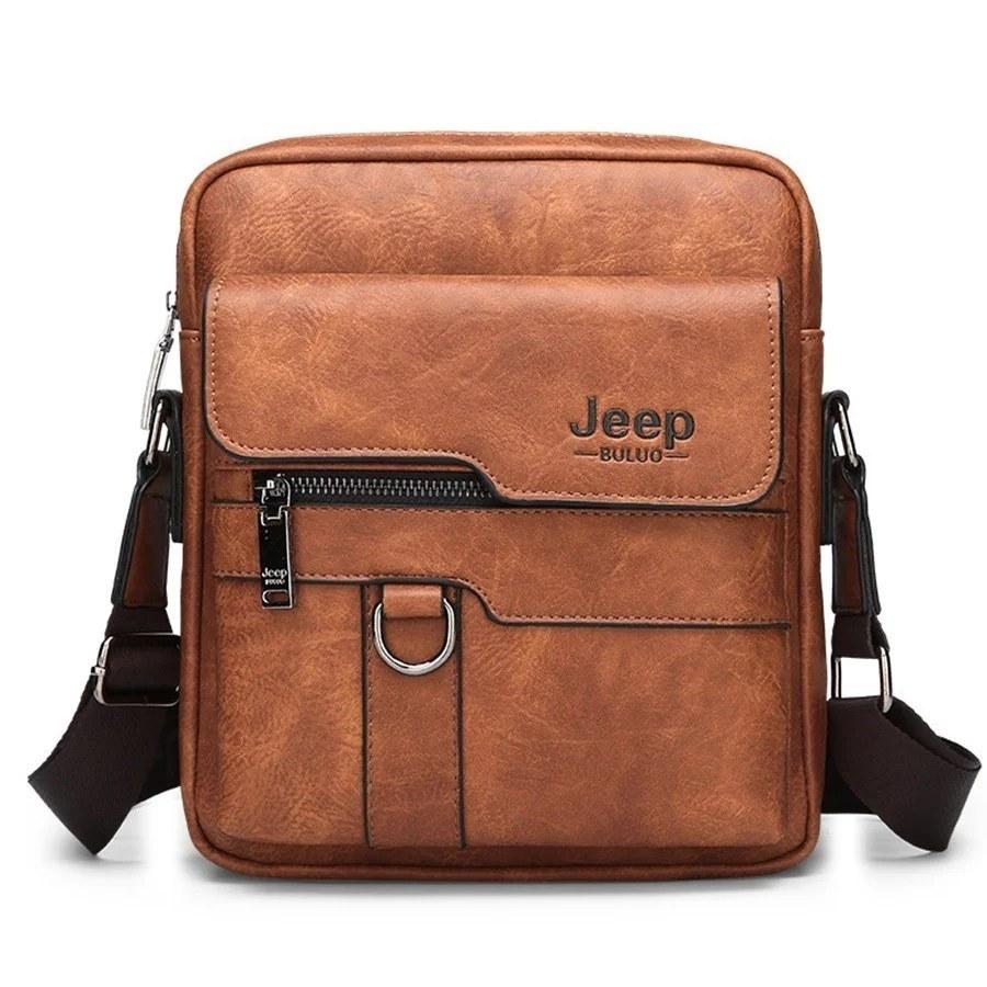Товары для мужчин Мужская сумка Jeep Buluo sumka-jeep-buluo--light-braun.jpg