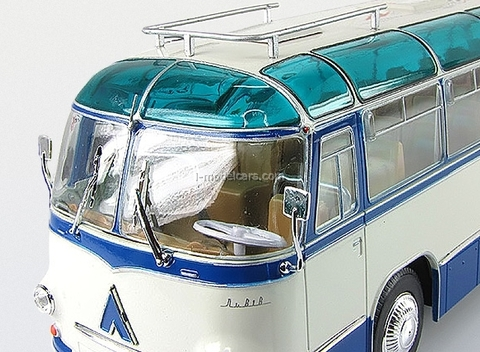 LAZ-695B Tourist bus blue-white Ultra Models 1:43