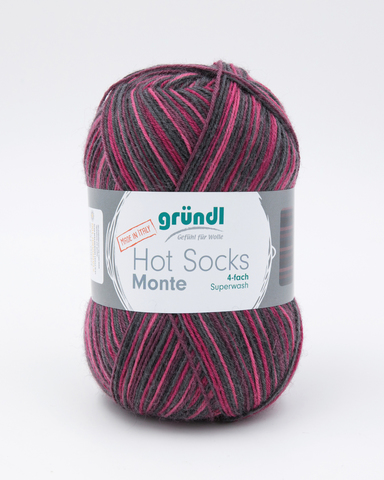 Носочная пряжа Gruendl Hot Socks Monte 04 купить