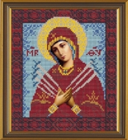 C-9007 Богородица Семистрельная