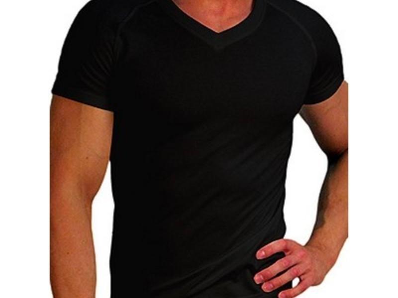 Мужская  термо футболка черная Doreanse 2880